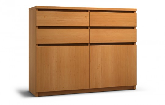 Highboard Erle-eric-nein-120 x 96 cm