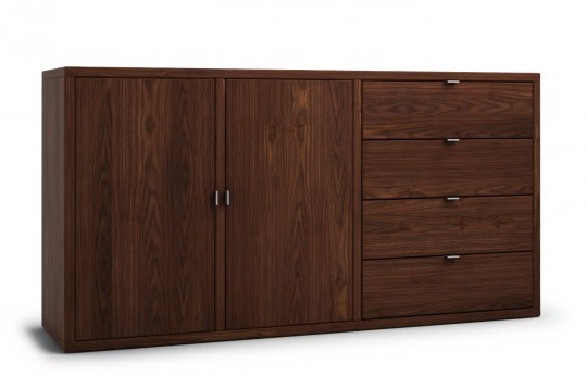 kommode nussbaum joost g nstig bei nhoma. Black Bedroom Furniture Sets. Home Design Ideas