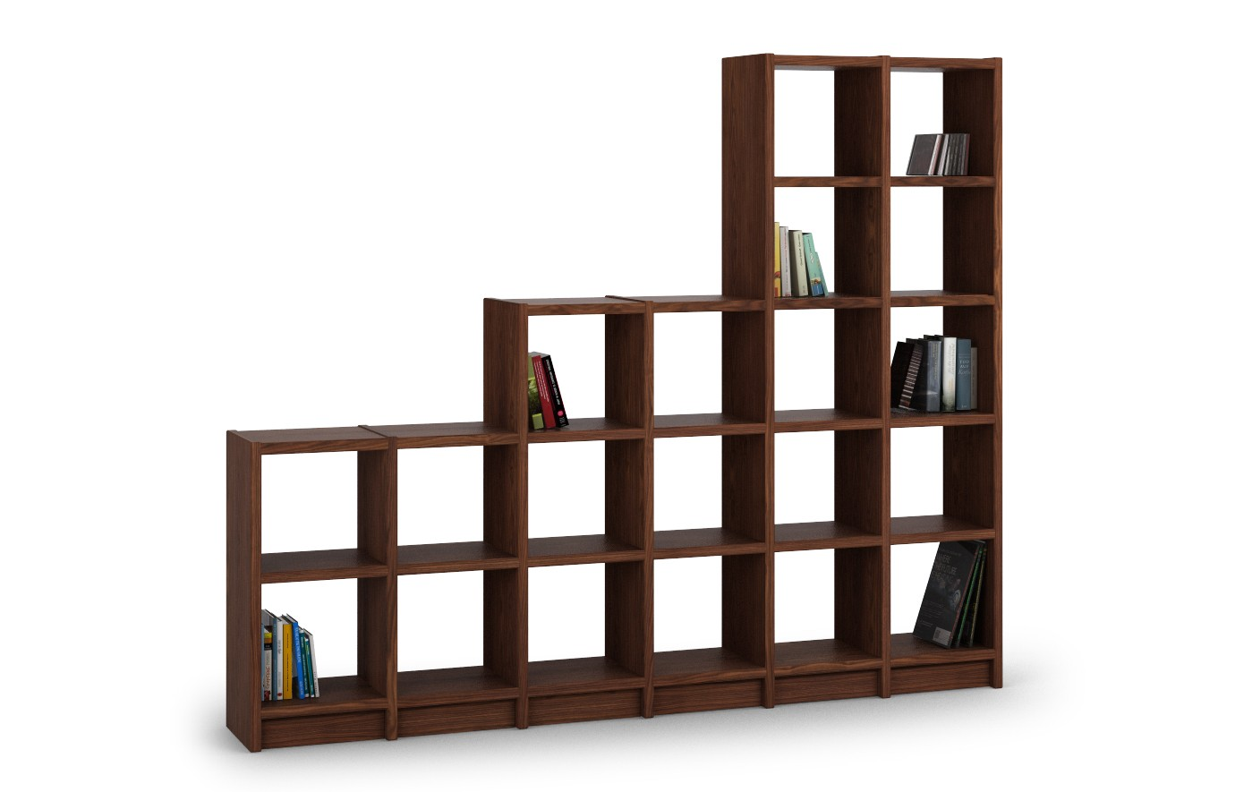 vcm regal dvd cd schrank rack m bel aufbewahrung holzregal standregal m bel anbauprogramm kern. Black Bedroom Furniture Sets. Home Design Ideas